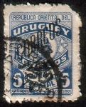 Sellos de America - Uruguay -  Franquicia Postal