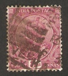 Sellos de Asia - India -  89 - George V