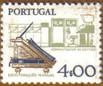 Sellos de Europa - Portugal -  Escritura Manua