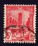 Sellos de Africa - Túnez -  CALLES DE TUNEZ