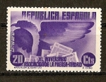 Sellos de Europa - España -  XL Aniversario Asociacion de la Prensa.