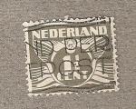 Sellos de Europa - Holanda -  Emblema