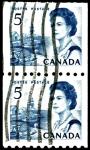 Sellos de America - Canadá -  REINA ELIZABETH (PROVINCIAS DEL NORTE)