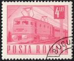 Stamps Romania -  Transportes