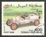 Stamps Somalia -  automóvil itala de 1907