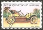 Sellos del Mundo : Africa : Chad : automóvil bianchi de 1905