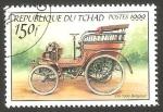 Sellos del Mundo : Africa : Chad : automóvil FN de 1900
