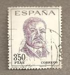 Stamps Spain -  Ruben Darío