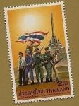 Stamps Thailand -  Aniversario día de los militares veteranos