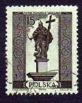 Stamps of the world : Poland :  POMNIK ZYGMUNTA III - WARSZAWA