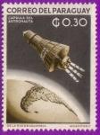Stamps : America : Paraguay :  Capsula del Astronauta