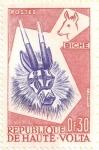 Stamps Africa - Burkina Faso -  ALTO VOLGA - Máscara