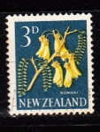 Sellos del Mundo : Oceania : Nueva_Zelanda : FLOR