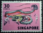 Stamps Asia - Singapore -  Folklore