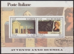 Stamps of the world : Italy :  Italia 2000 Scott 2330 Sello º HB Arte y Ciencia 0,41€ Timbre Italie Italy Stamp Francobollo