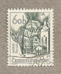 Sellos de Europa - Checoslovaquia -  700 Aniv de Nachod
