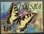 Sellos de Europa - Polonia -  papilio machaon
