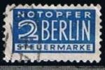 Sellos de Europa - Alemania -  Scott  RA2  Cifras