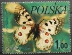 Sellos de Europa - Polonia -  parnassius apollo