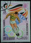 Sellos de Asia - Emiratos Árabes Unidos -  Olympic Games Munich 1972
