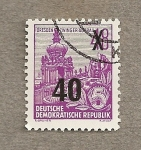 Sellos de Europa - Alemania -  Reconstrucción Dresde