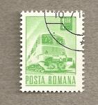 Sellos de Europa - Rumania -  Tren