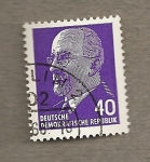 Stamps Germany -  Presidente