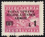 Sellos de Europa - Yugoslavia -  Istria y costa eslovena (zona B)