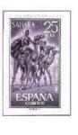 Stamps Spain -  SAHARA EDIFIL 217  (24 SELLOS)INTERCAMBIO