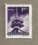 Sellos de Europa - Hungría -  Torre de comunicaciones de Miskolc
