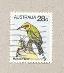 Sellos de Oceania - Australia -  Ave del arco iris