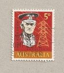 Stamps Australia -  100 Aniv. de John Monash