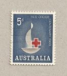 Sellos de Oceania - Australia -  100 Aniv. Cruz Roja