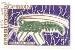 Stamps Cameroon -  Langosta