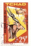 Stamps Africa - Chad -  Impala