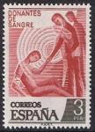 Stamps Europe - Spain -  DONANTES DE SANGRE