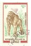 Stamps Republic of the Congo -  Gorila