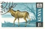 Stamps Kenya -  Impala