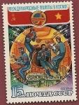 Stamps Russia -  Intercosmos - Cooperación con Viet-nam  - vuelo conjunto - Soyuz 36