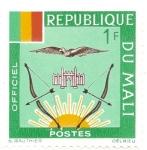 Sellos del Mundo : Africa : Mali : Escudo