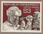 Stamps Austria -  Anton Hanak - escultor