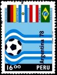 Sellos de America - Perú -  ARGENTINA 78 - XI CAMPEONATO MUNDIAL DE FÚTBOL