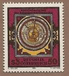 Stamps Austria -  600 aniversario de Johannes von Gmunden - Astrónomo y Matemático