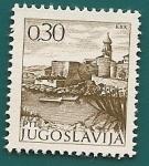 Stamps Yugoslavia -  Isla de Krk - Croacia