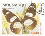 Sellos del Mundo : Africa : Mozambique : Mariposa