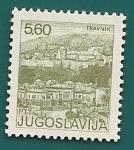 Stamps Yugoslavia -  Travnik -  Bosnia-Herzegovina
