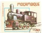 Sellos del Mundo : Africa : Mozambique : Locomotora