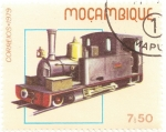 Stamps Mozambique -  Locomotora