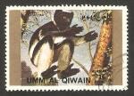Stamps : Asia : United_Arab_Emirates :  umm al qiwain - fauna