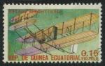 Sellos del Mundo : Africa : Guinea_Ecuatorial : Aviones - Biplano Wright (1904)